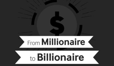 The Journey to the 3-Comma Club: From Millionaire to Billionaire - Infographic