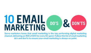 10 Do's and Don'ts of Smart Email Marketing - Infographic