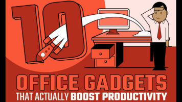 10 Must-Have Gadgets on Your Office Desk that are Amazing Productivity Boosters - Infographic
