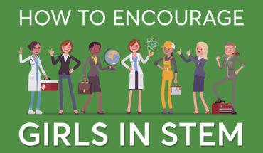 7-Step Path for Empowering Girls in STEM - Infographic