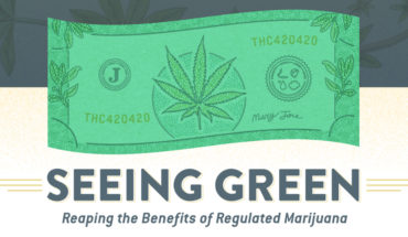Advantages of Legalising Pot - Infographic