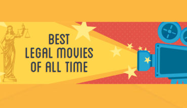 All Time Great Legal Movies: Top 10 Listing - Infographic