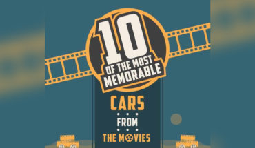 Car-dom: 10 Iconic Cars that Shot to Movie Stardom - Infographic