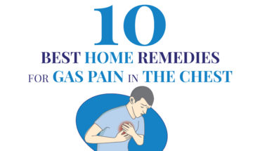 Chest Pain Because of Gas? 10 Hardworking Home Remedies - Infographic