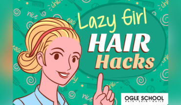 Four Super-Cute Hair Hacks for those Crazy (or Lazy) Days - Infographic