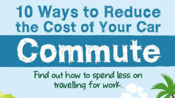 How to Cut the Cost of Commuting: 10 Simple Tips - Infographic