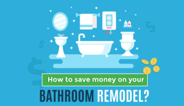 How to Give Your Bathroom a Makeover and Save Money! - Infographic
