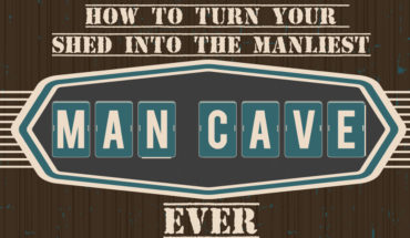 Man Caves: How to Convert Your Shed into Your Personal Kingdom - Infographic