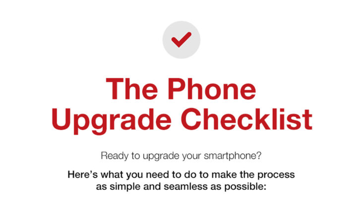 Upgrading Your Phone? First Check the Upgrade Checklist - Infographic
