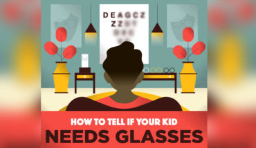 Does Your Kid Needs Glasses? Watch the Signs! - Infographic