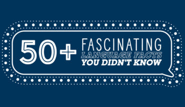 Fun with Language: 50+ Fascinating Facts - Infographic
