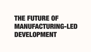 Game-Changers: What's Next in Manufacturing-Led Development - Infographic