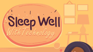How Technology Can Help You Sleep Better - Infographic