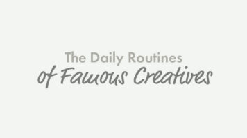 How and When Do Famous Creatives Work? - Infographic