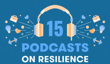 How to Never Give Up: 15 Podcasts on the Spirit of Resilience - Infographic
