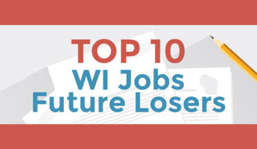 Job Projections in Wisconsin: The Top 10 Future Losers - Infographic