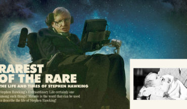 The Extraordinary Life of a Very Special Human Being: Stephen Hawking - Infographic