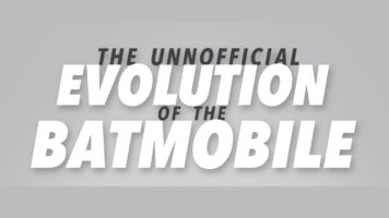 The Stunning Batmobile: Then and Now - Infographic