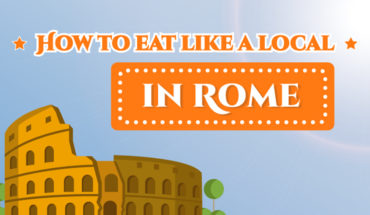 When in Rome, Eat Like the Romans Do! - Infographic