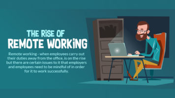 Why Remote Working is on the Rise: Facts and Stats - Infographic