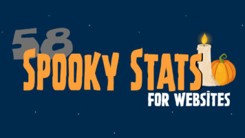 58 Website Stats that Will Give You the Shivers - Infographic