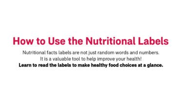 How to Decipher Nutritional Facts from Random Words and Numbers on Packaged Food Labels - Infographic