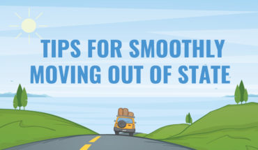 How to Plan for a Smooth Inter-State Move - Infographic