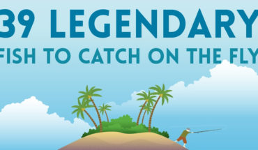 Legendary Fish to Catch on the Fly: The Conclusive List - Infographic
