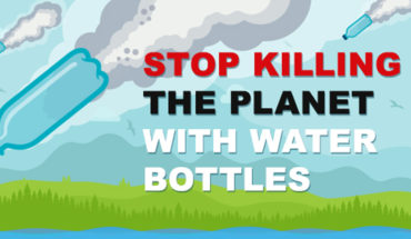 Meet Your Planet's New Enemy: Plastic Water Bottles - Infographic
