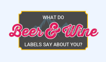 The Hidden Meaning of the Beer and Wine Labels and What They Say About You - Infographic