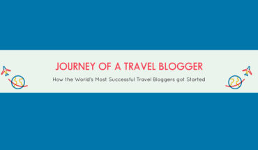 The Travel Blogger's Journey to Blogging - Infographic