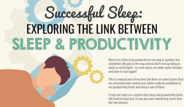 Want to Enhance Your Productivity Level? Catch Up on Quality Sleep! - Infographic