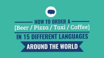4 Questions, 15 Languages: A Translation Guide for Tourists - Infographic