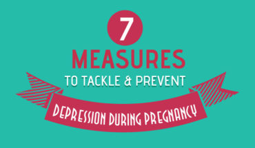 7 Ways to Fight Ante-Natal Depression and Have a Great Pregnancy - Infographic