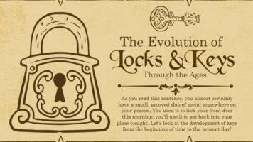 Eternal Quest for Security: Evolution of Locks & Keys - Infographic
