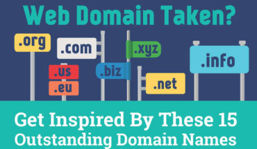 How to Create a Unique and Memorable Web Domain Name - Infographic