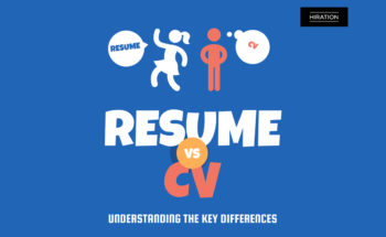 Spot the Difference: CV Vs Resumé - Infographic