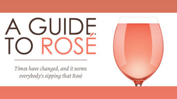 The Many Shades of Rosé: A Wine Connoisseurs Guide - Infographic