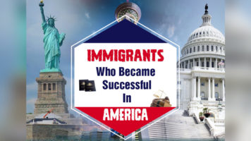 Achieving the American Dream: Immigrant Success Stories - Infographic
