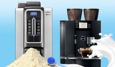 How to Choose the Best Office Coffee Machine: Krea Vs Jura Giga X8 - Infographic