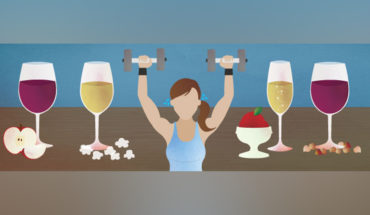 How to Enjoy Your Glass (or Two) of Wine and Not Whine About the Calories - Infographic