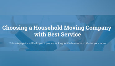 How to Select the Right Household Moving Company - Infographic