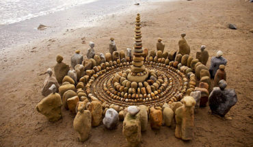 James Brunt Creates Temporary Art Using Nature