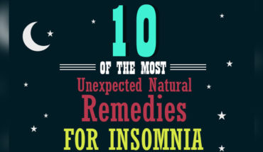 Junk Insomnia Permanently: 10 Unexpected and Amazing Natural Remedies - Infographic