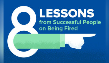Life Lessons from Successful People Who Were Fired! - Infographic