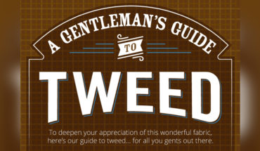 Romancing the Tweed: A Gentleman's Guide - Infographic