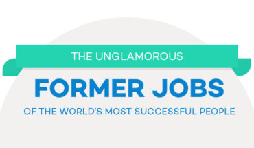 Tales of Humble Beginnings and Heights of Success: The First Jobs of Super-Achievers - Infographic