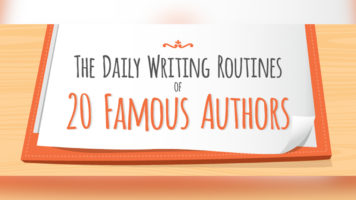The Importance of Disciplined Writing Routines: Examples from 20 Much-Loved Authors - Infographic