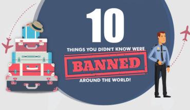 10 of the Weirdest Bans Around the World - Infographic