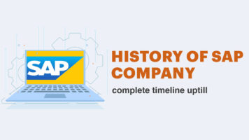 From Great to Greater: A Timeline of SAP's Amazing Story of Success - Infographic